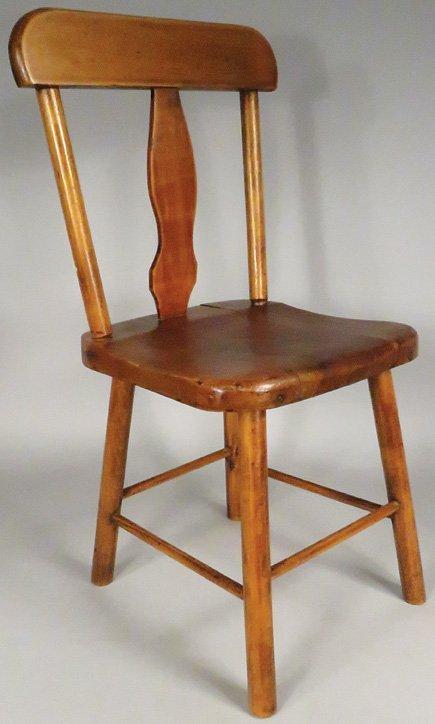 Paris Mfg Co. Child's Wood Chair No. 16
