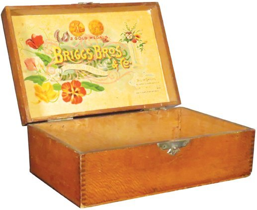 Briggs Bros. & Co. Seeds Store Display Box