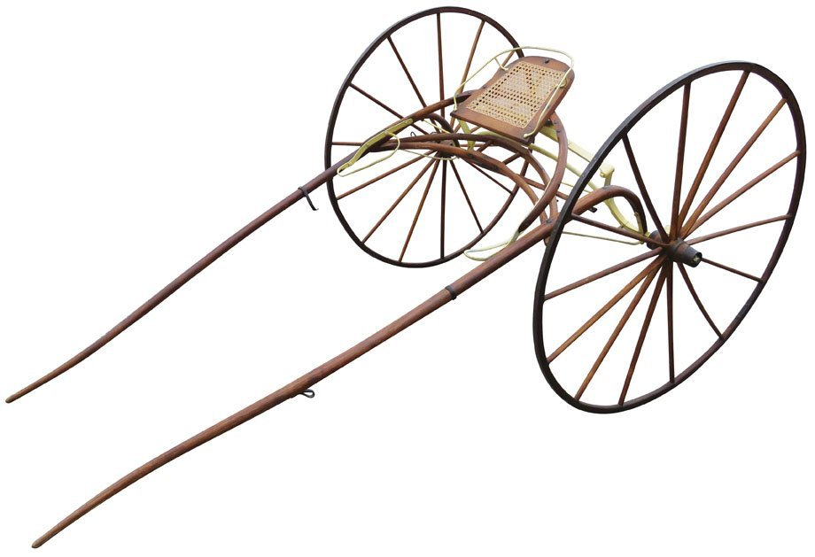 Early Sulky Horse Racing Cart
