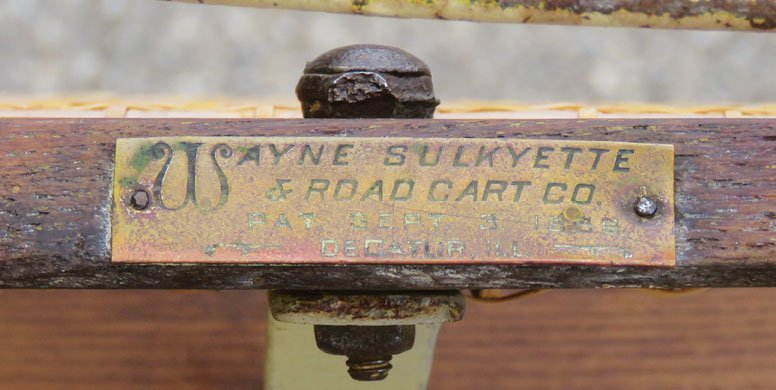 Early Sulky Horse Racing Cart - 2