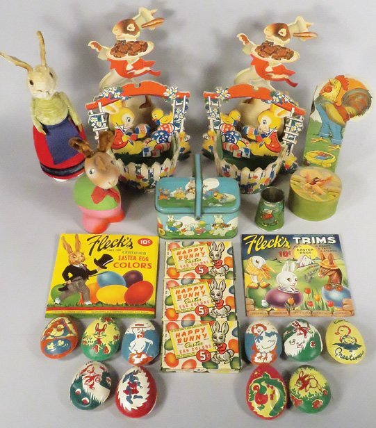 Collection of Vintage Easter Items
