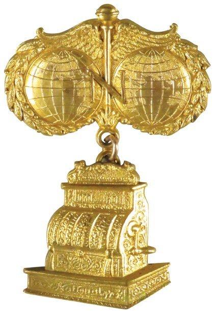 National Cash Register Co. Souvenir Pin