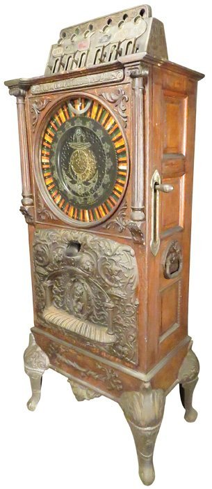 Caille Bros. New Century Upright Slot Machine - 2