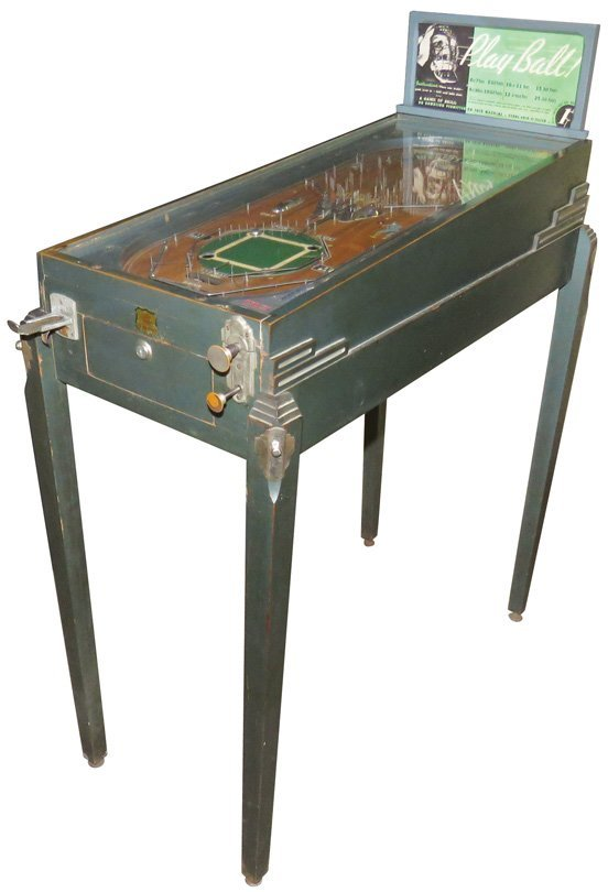Early World Series Pin Ball Machine