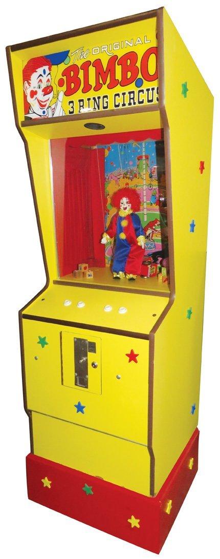 The Original Bimbo 3 Ring Circus Arcade Game