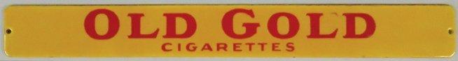 Old Gold Cigarettes Porcelain Sign - 2