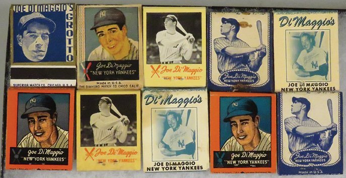 Collection of Vintage Match Books