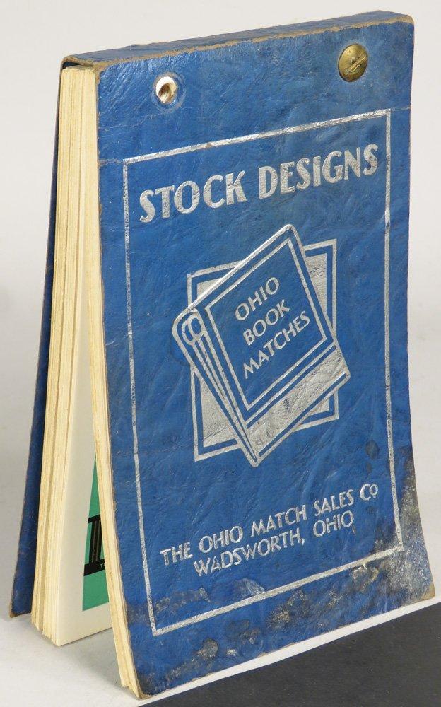 Ohio Book Matches Salesman Sample Book