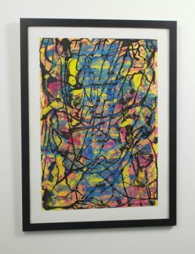 11: Jo-Anne Bates, Rag Paper and Ink Monotype Print