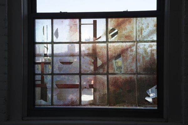 1: Raqs Media Collective, Silkscreen on acrylic