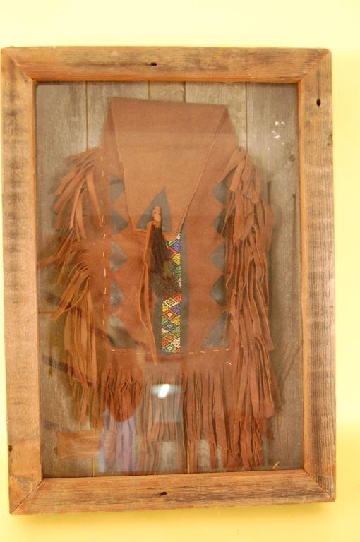 6A: Buckskin Pouch in Shadowbox