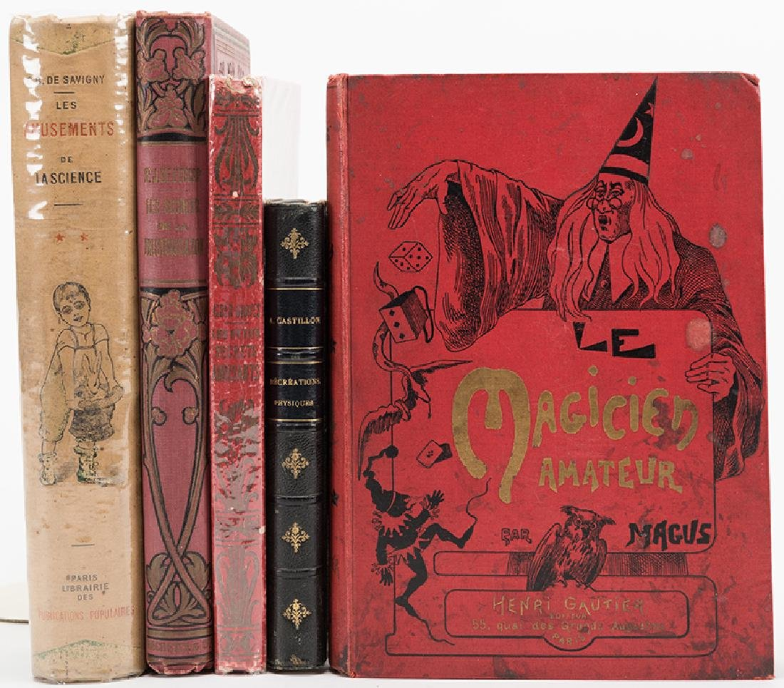 Group of Five Vintage and Antiquarian Volumes on