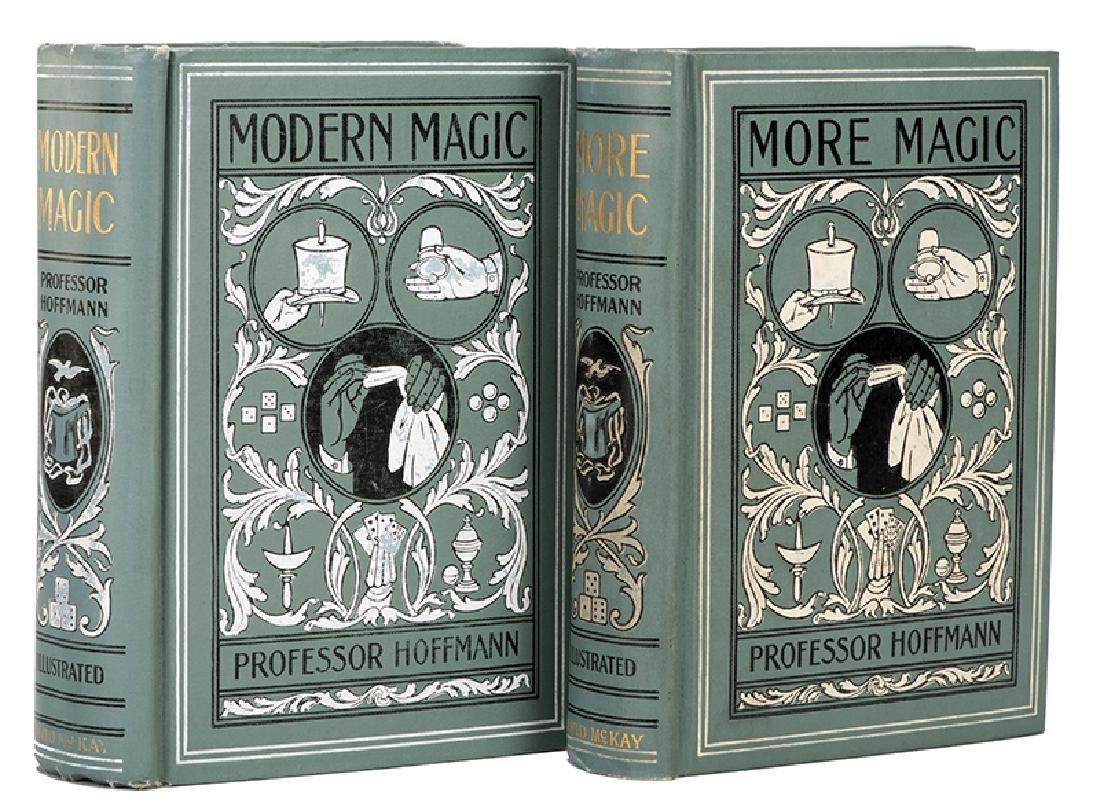 Hoffmann, Professor. Modern Magic and More Magic.