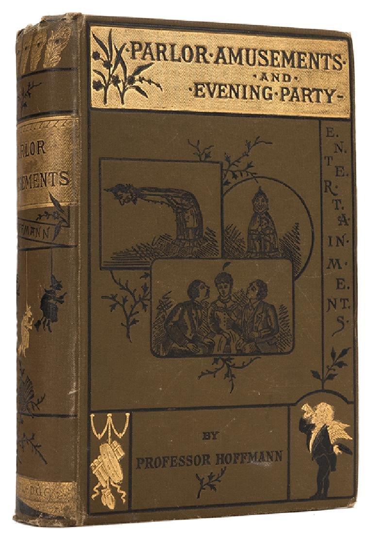 Hoffmann, Professor. Parlor Amusements and Evening