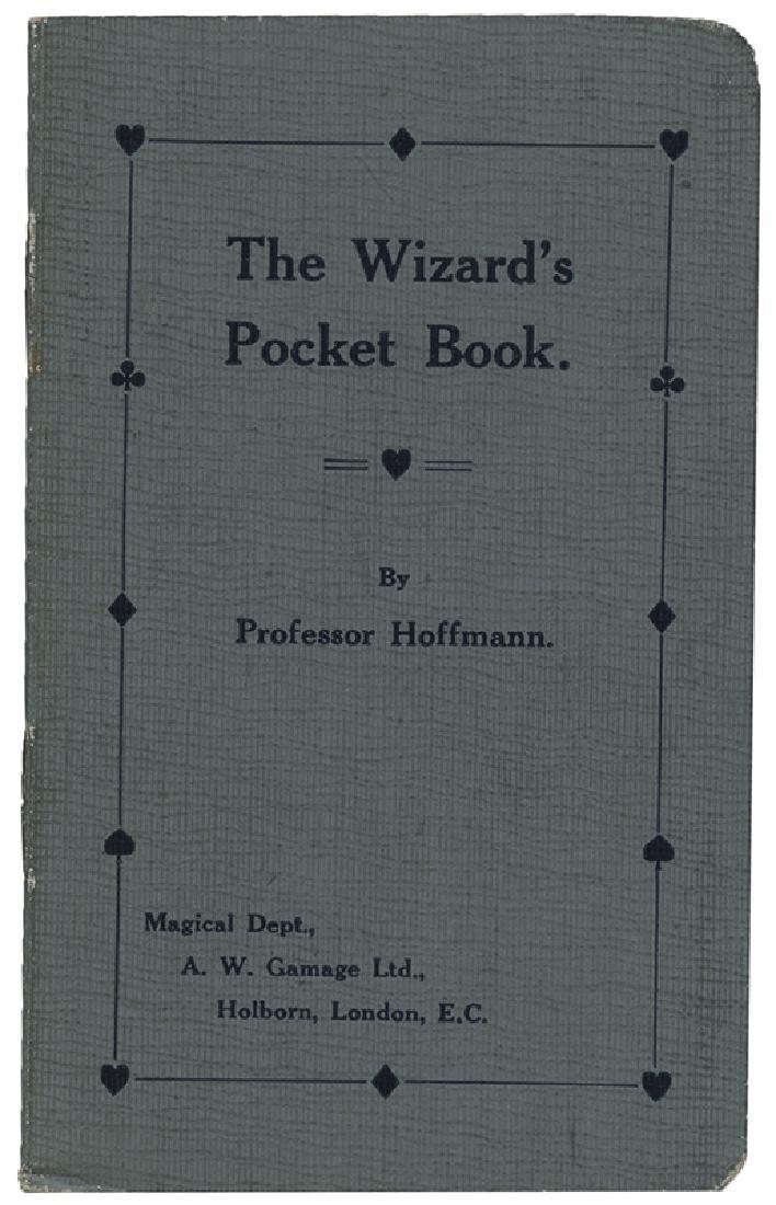 Hoffmann, Professor. The Wizard's Pocket Book.