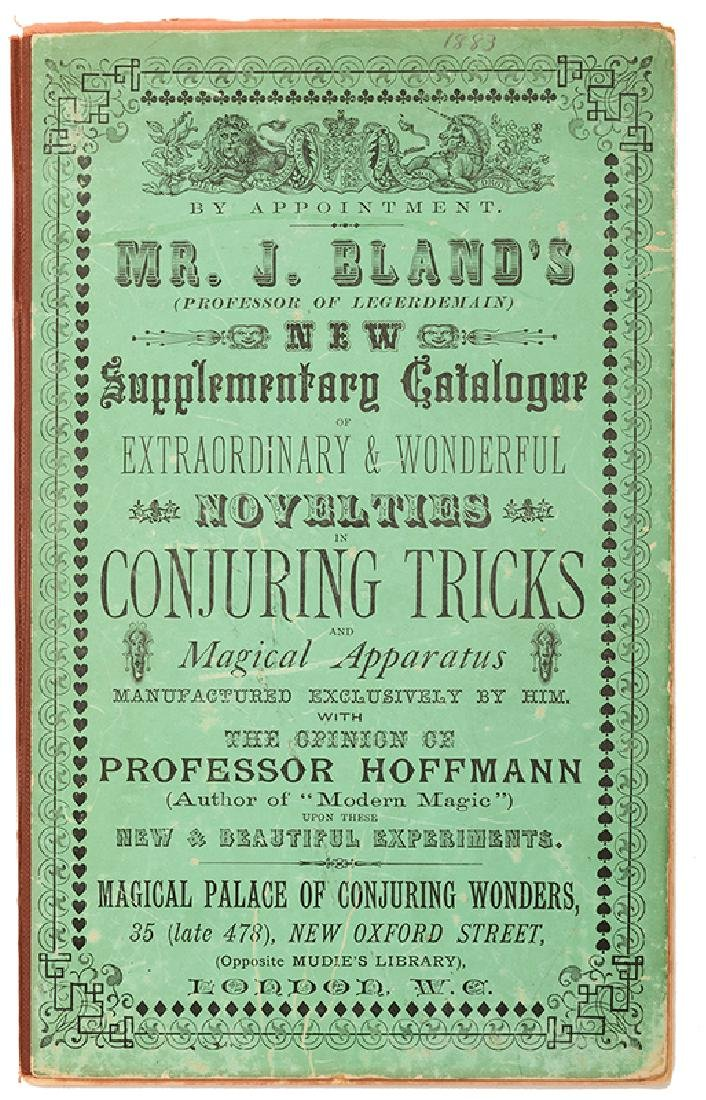 Bland, J. New Supplementary Catalogue of Extraordinary