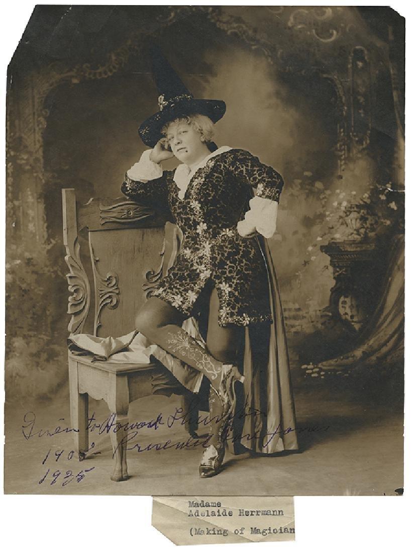 Herrmann, Adelaide. Portrait of Adelaide Herrmann as