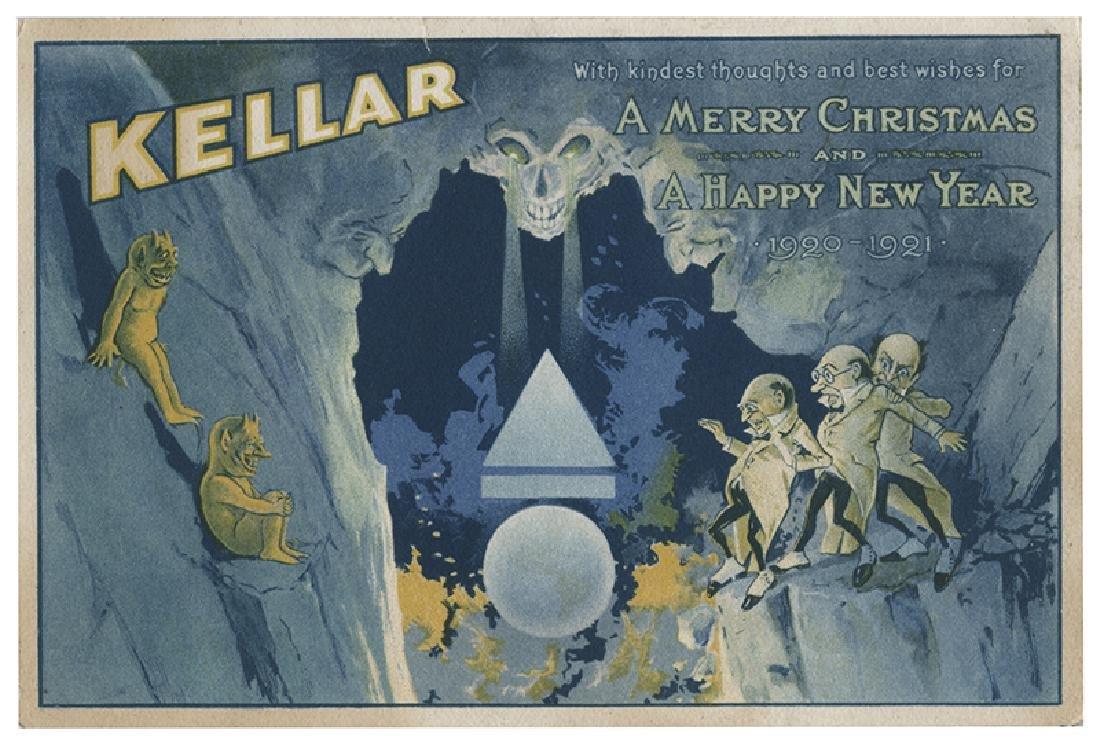 Kellar, Harry (Heinrich Keller). Merry Christmas and