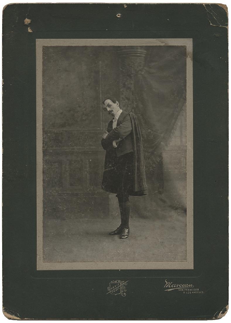 Cabinet Photograph of Magician Servais LeRoy.
