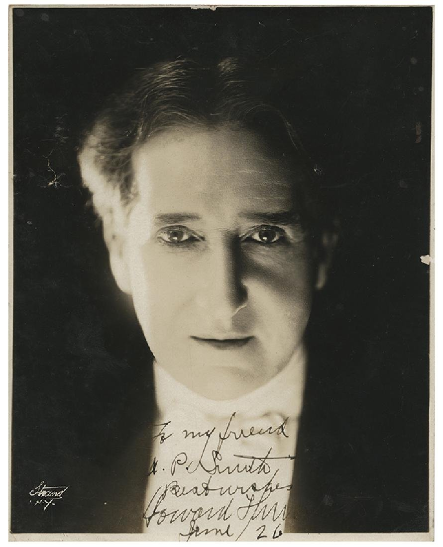 Thurston, Howard. Inscribed and Signed Photograph.