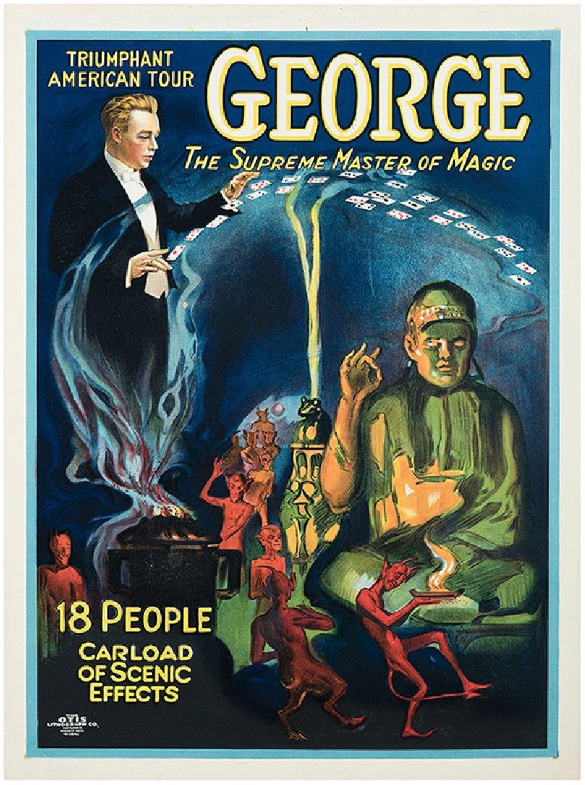 George. The Supreme Master of Magic.