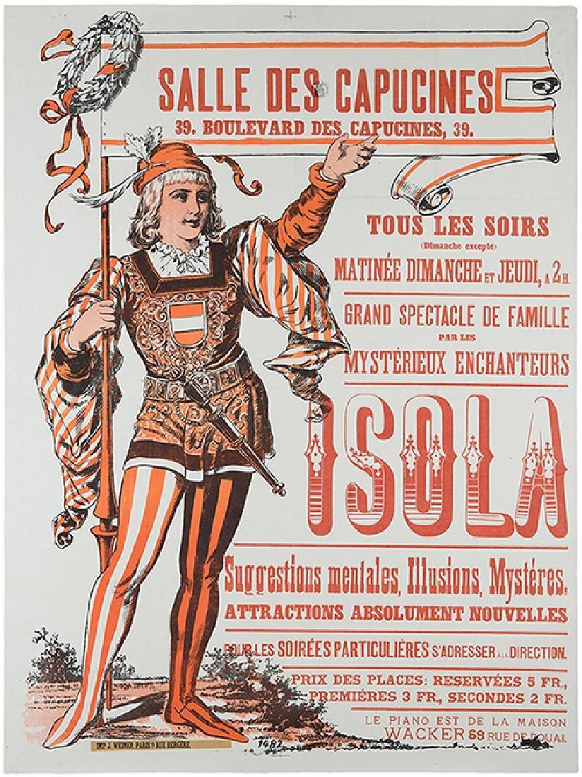 Isola (Vincent and Emile Isola). Salle Des Capucines.