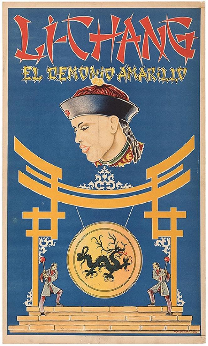El Demonio Amarillo Original Artwork.