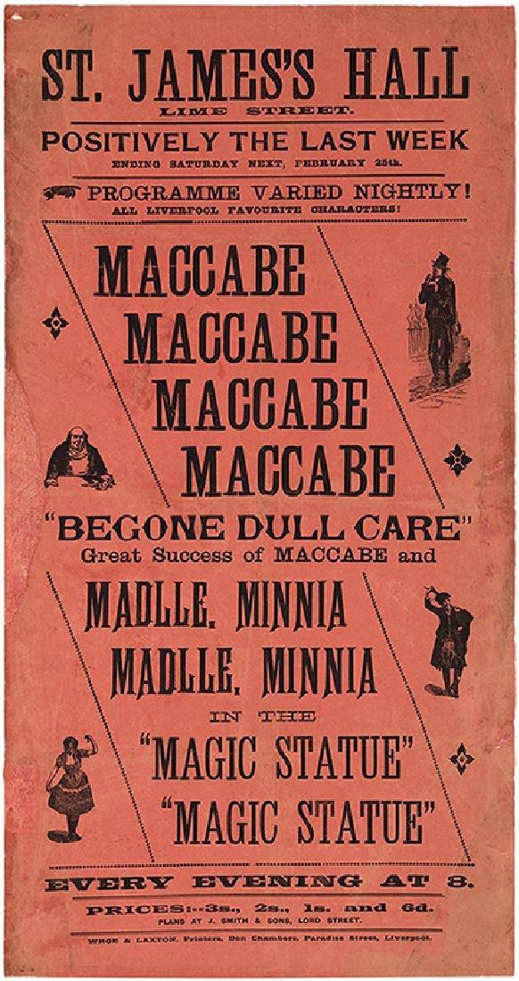 Maccabe, Frederic. Begone Dull Care. The Magic Statue.