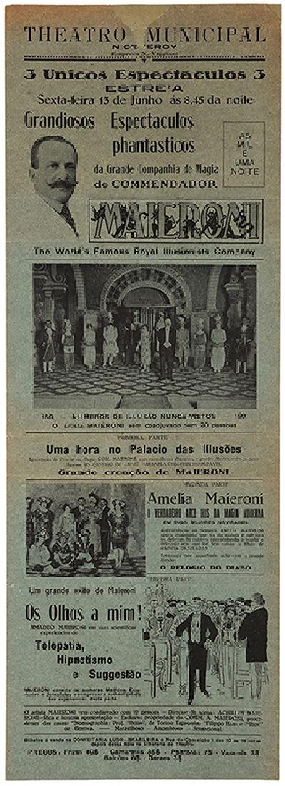 Group of Six Spanish Conjuring Broadsides and - 2