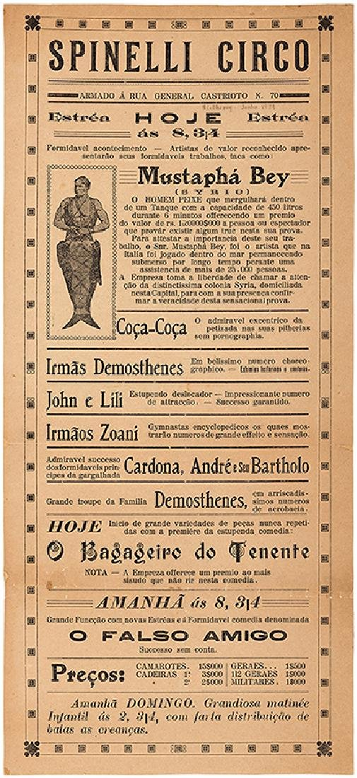 Group of Six Spanish Conjuring Broadsides and - 3
