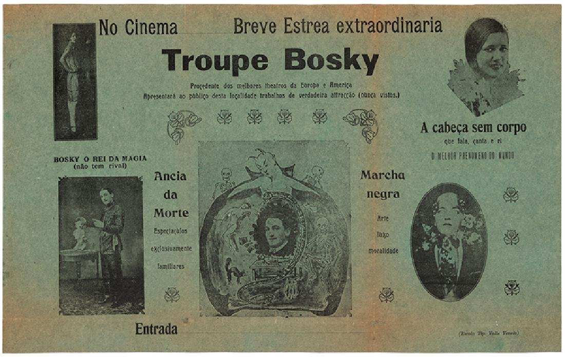 Group of Six Spanish Conjuring Broadsides and - 5