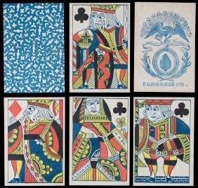 Congress Co. Faro Playing Cards.