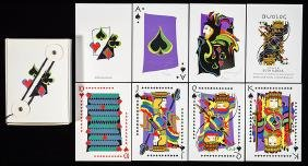 Duolog Limited Edition 2/200 Playing Cards.