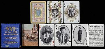 Two Entertainment-Themed Decks of Playing Cards.