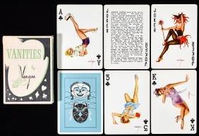 """Alberto Vargas """"Vanities"""" Pin Up Playing Cards."""
