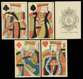 Gibson & Gisborne Pack of Playing Cards.