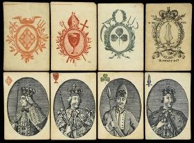 Rowley & Co. Monarchs of Europe Playing Cards.