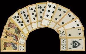 Carreras Ltd. 52 Playing Cards & Dominoes Tobacco