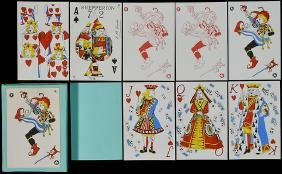 Elaine Lewis Shepperton 72 Playing Cards.