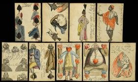 Hand Drawn Transformation Playing Cards.