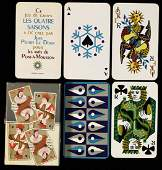 Jean Picart Le Doux Les Quatre Saisons Playing Cards