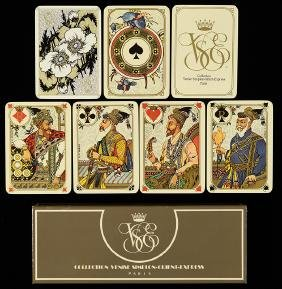 "B.P. Grimaud ""Orient Express"" Playing Cards."