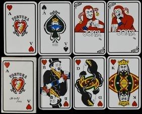 "Siegfried Heilmeier ""Fortuna Skat"" Playing Cards."