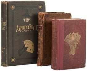 Hoyle, Edmond. Three Antiquarian Editions of Hoyle's