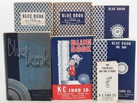 K.C. Card Co. Group of Six Supply Catalogs.