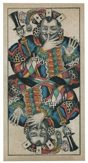 Album of Over 270 Postcards with Playing Cards.
