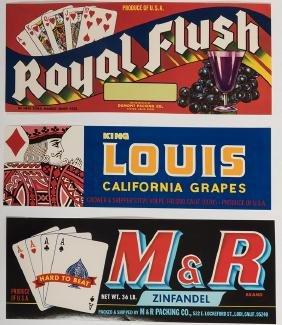 Album of 46 Pieces of Ephemera All Playing Card