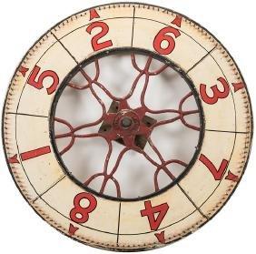 Antique Carnival Game Wheel.