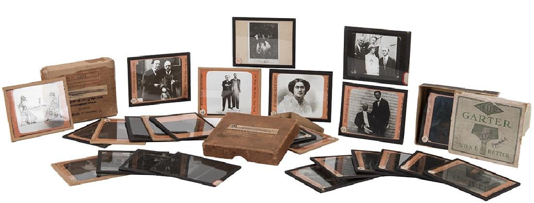 Collection of Lantern Slides from Houdini's