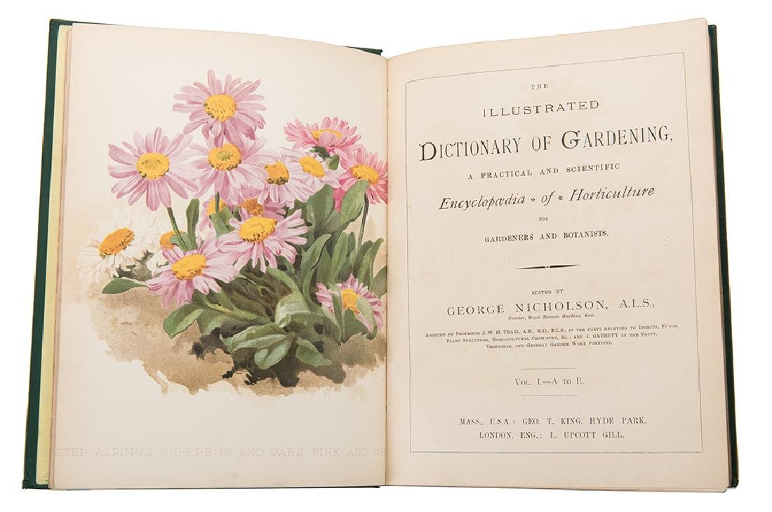 Nicholson, George, ed. The Illustrated Dictionary of